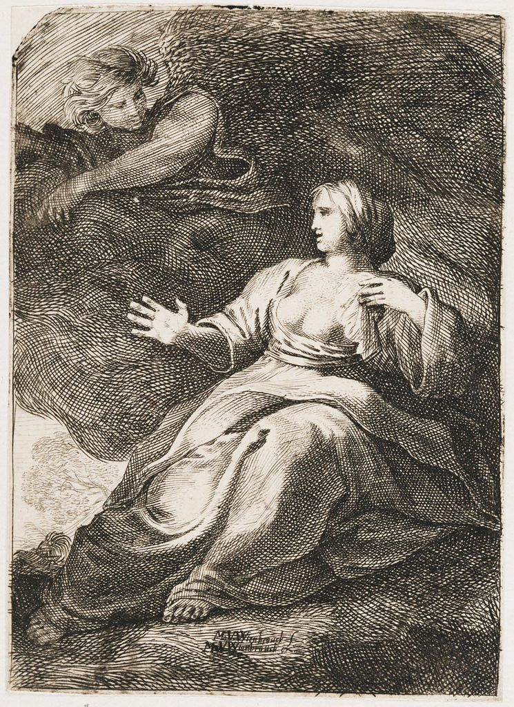 Hagar Comforted By The Angel