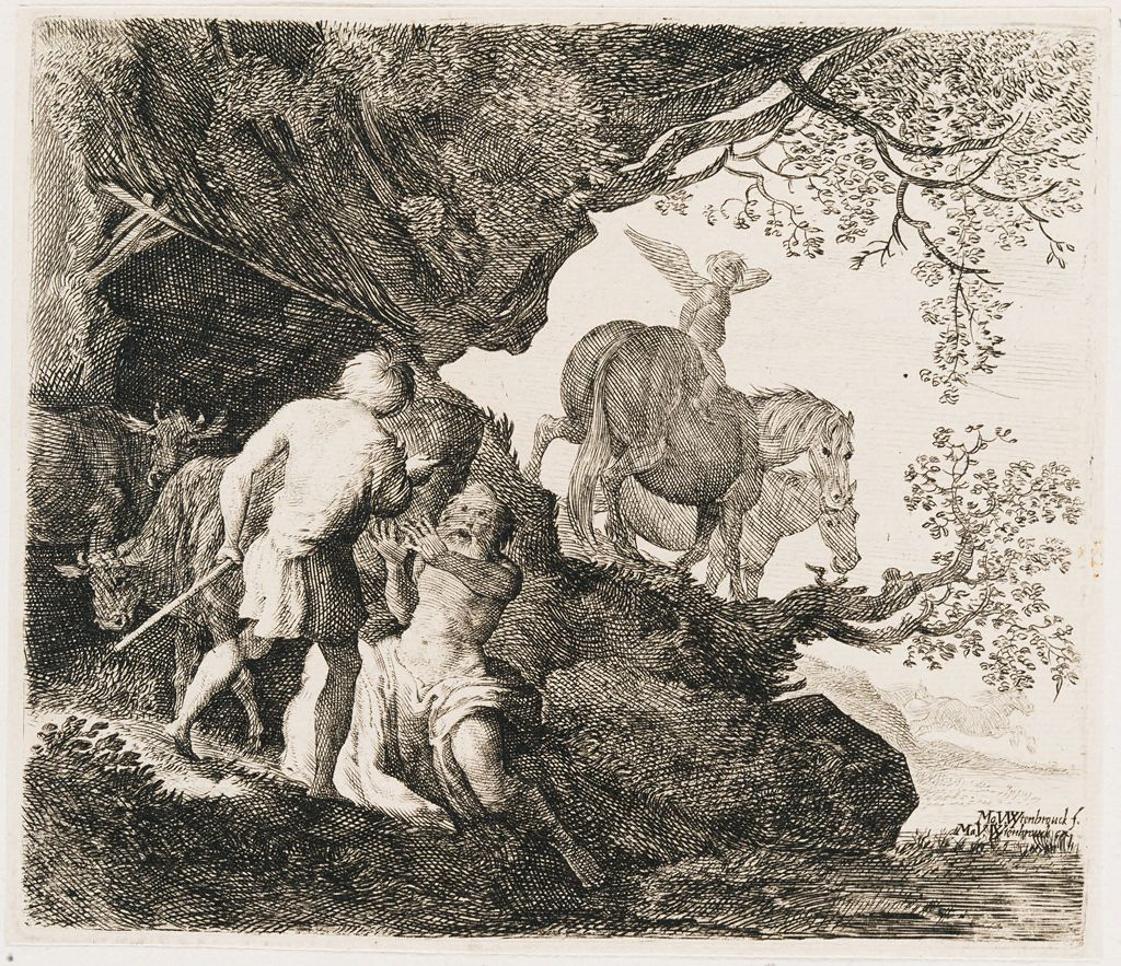 Mercury Punishes Battus