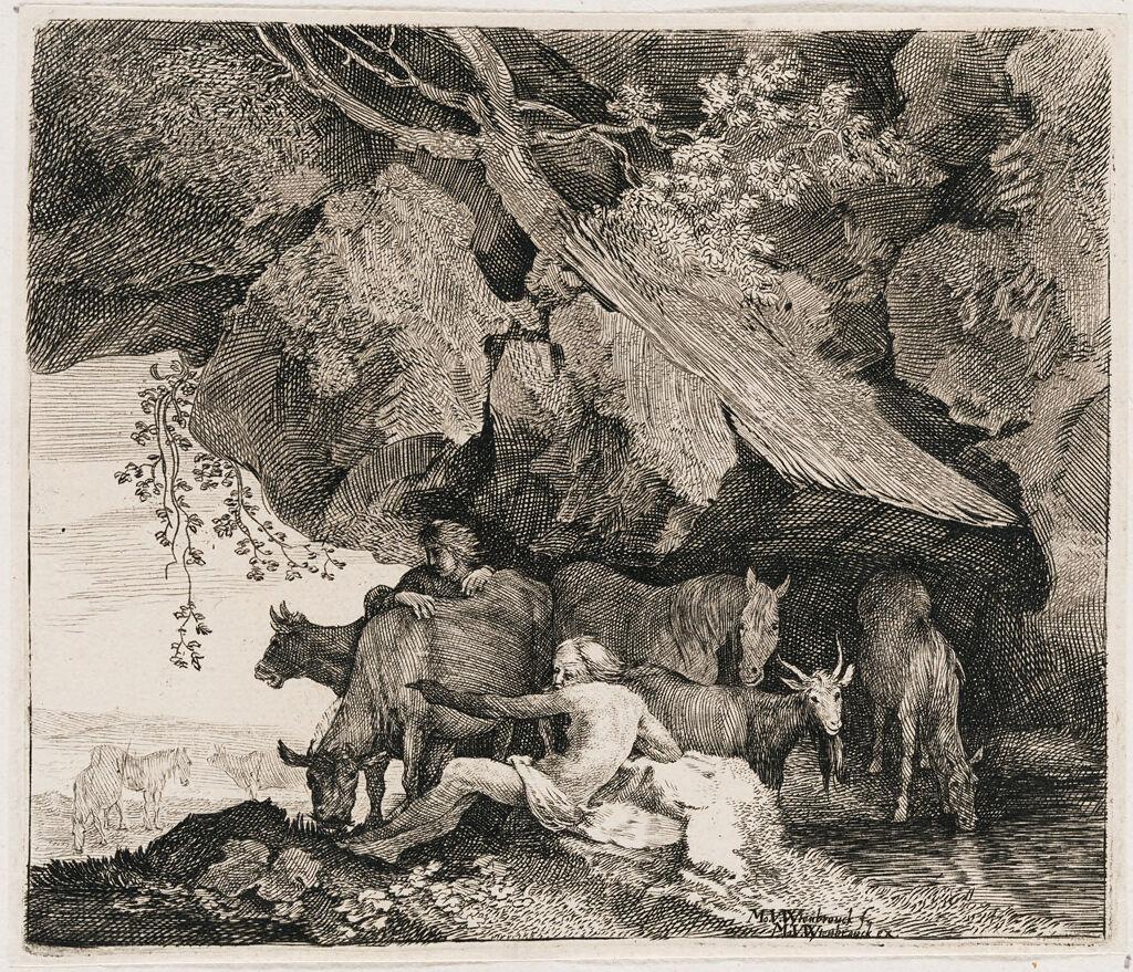 Battus Reveals Mercury's Hiding Place For Apollo's Horses