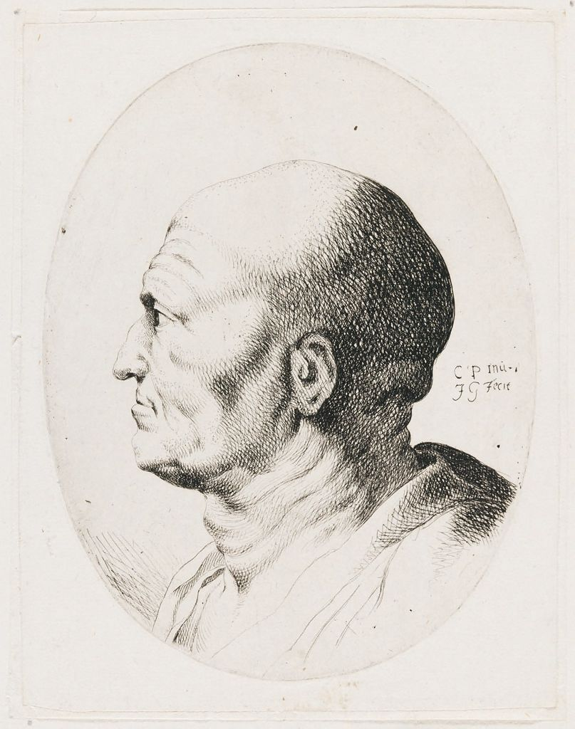 Bust Of An Old Man