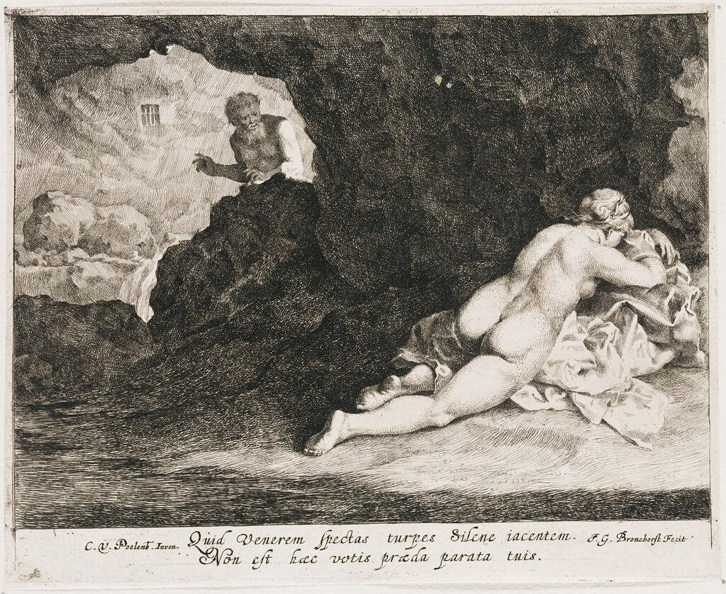 Antiope Surprised By Jupiter