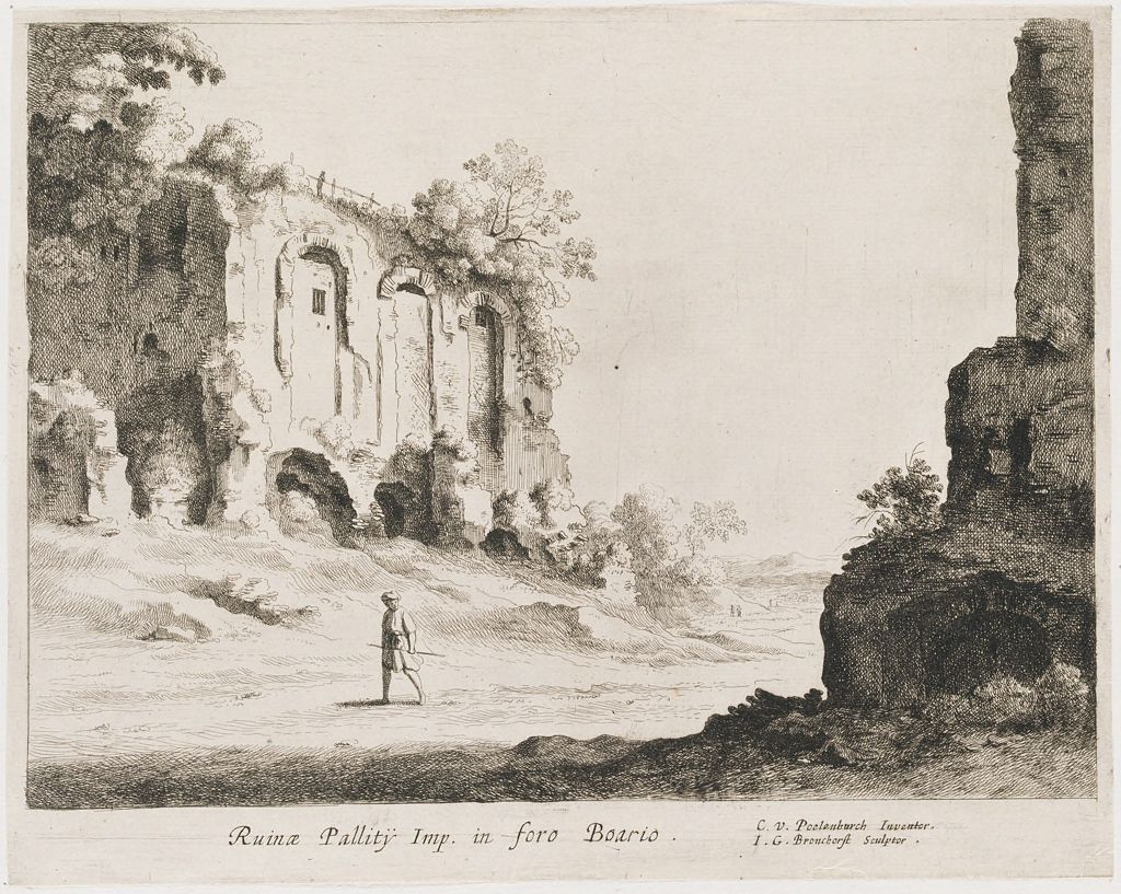 Ruins Of An Imperial Palace
