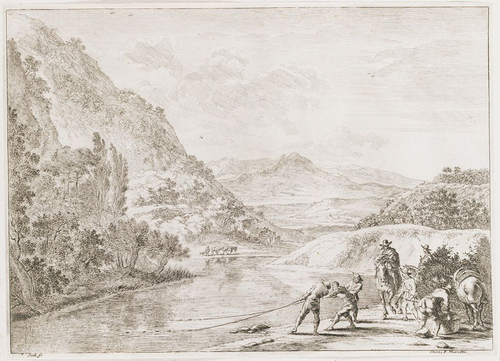 The Fisherman At The Tiber, Near The Soracte