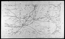Map of Peru, showing Chuquicamata
