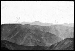 Mt. Harvard, Peru, view from the summit.   Mount Harvard, Peru, view from the summit