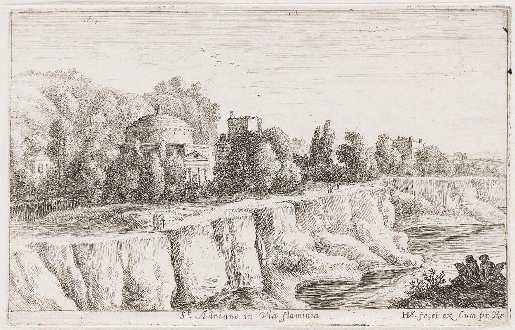 Church Of S. Adriano On The Via Flaminia