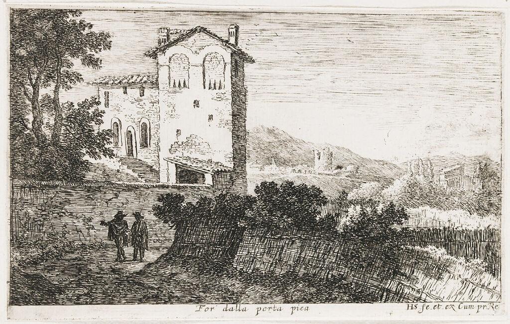 Villa Outside The Porta Pia