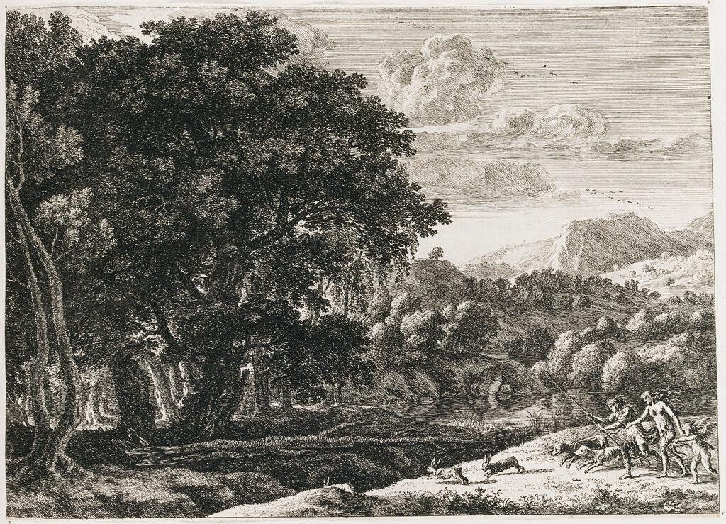Venus And Adonis Hunting