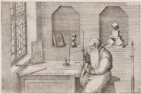 Portrait Of Wenzel Jamnitzer: Goldsmith, Mathematician, Designer Of Instruments