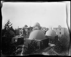 Harvard College Observatory showing brick building (Historical Photograph)