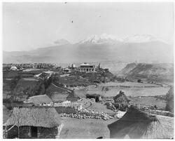 Arequipa, Peru, El Misti in background