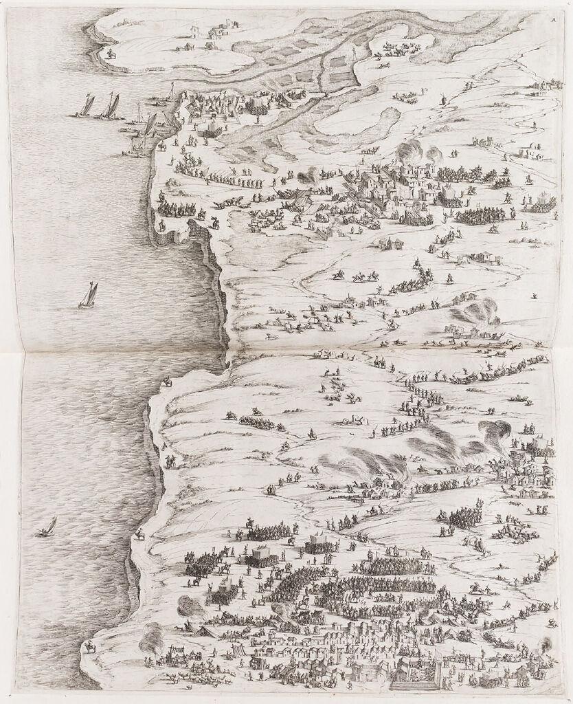 Siege Of La Rochelle (Upper Left)