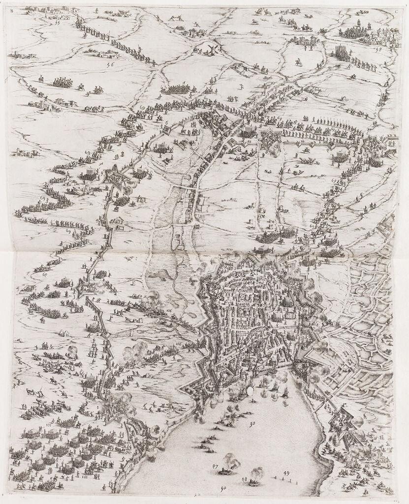 Siege Of La Rochelle (Upper Center)