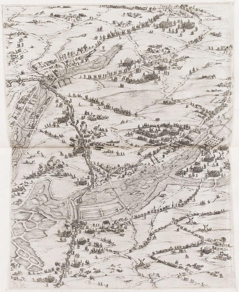 Siege Of La Rochelle (Upper Right)