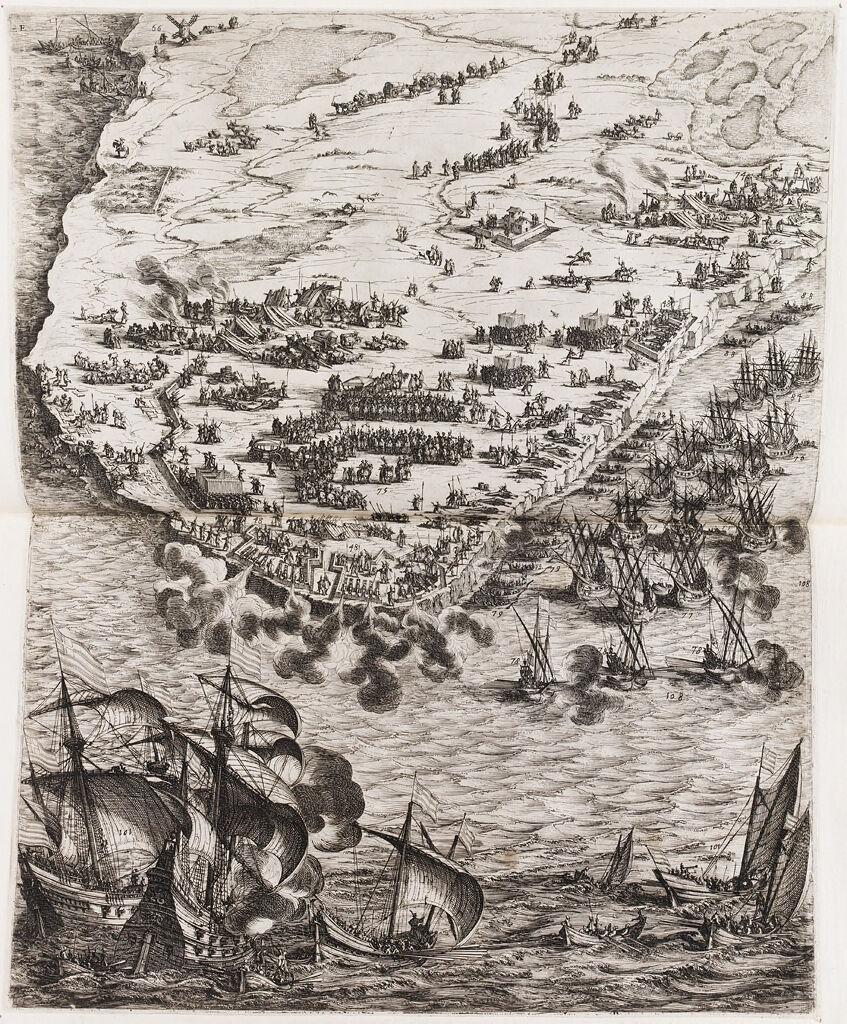Siege Of La Rochelle (Lower Left)