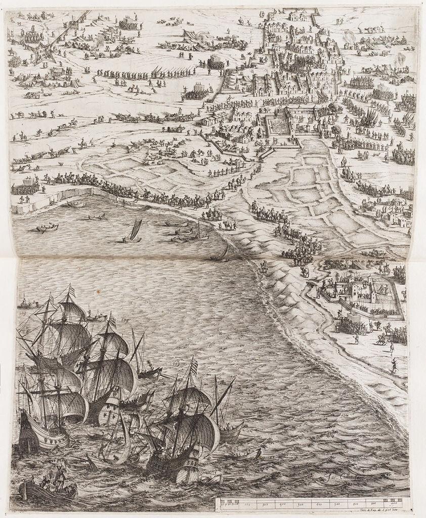Siege Of La Rochelle (Lower Right)