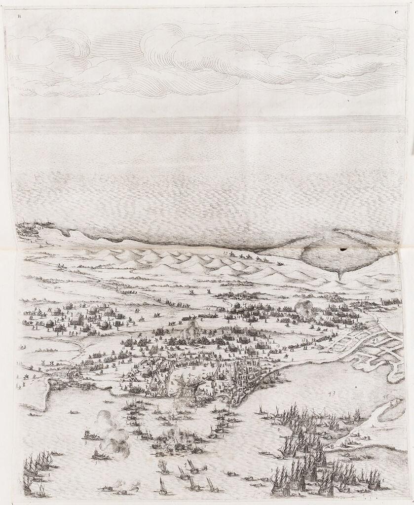 Siege Of The Citadel Of Saint-Martin On L'ile De Re (Upper Center)