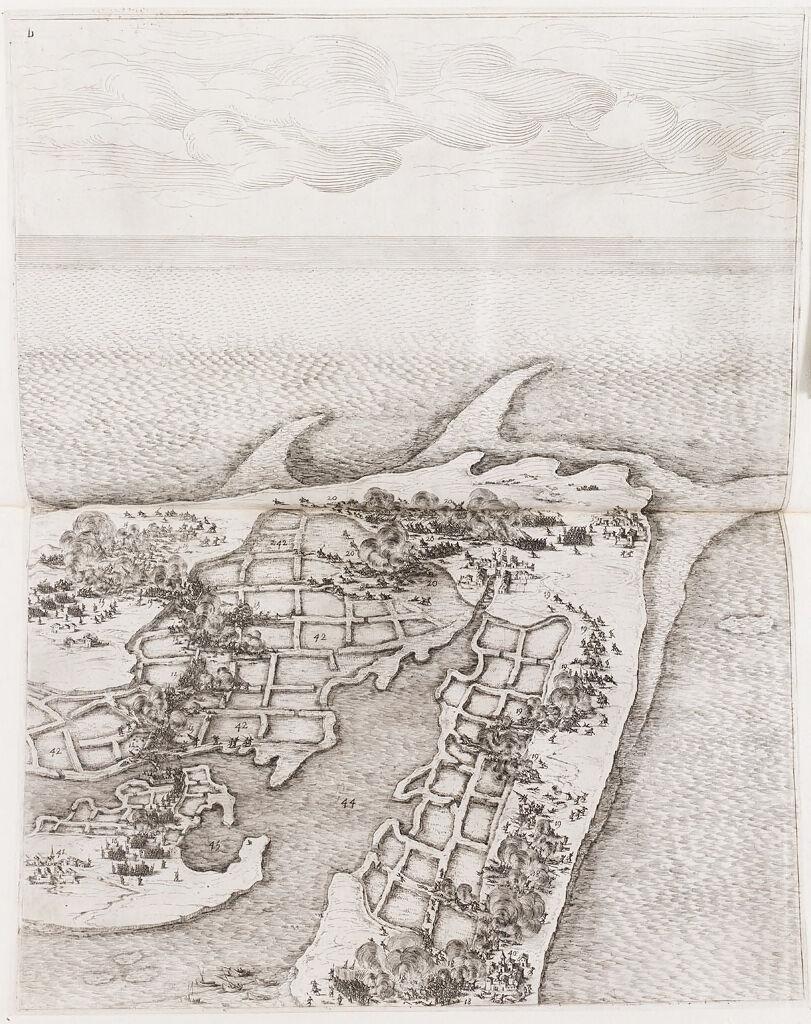 Siege Of The Citadel Of Saint-Martin On L'ile De Re (Upper Right)