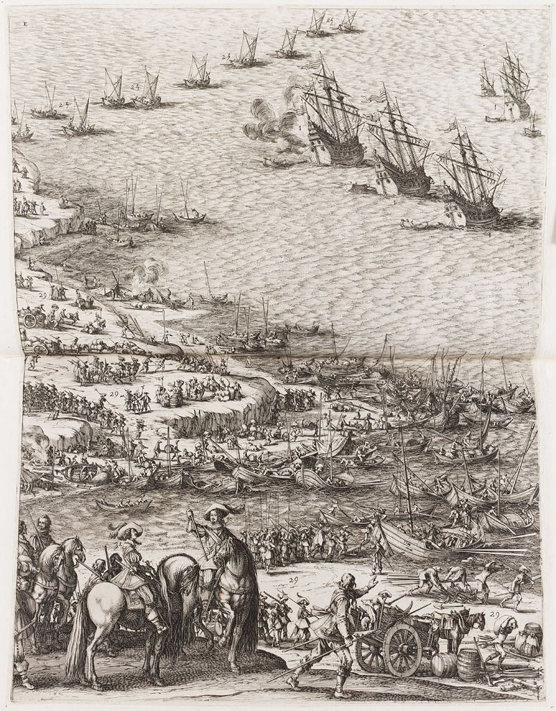 Siege Of The Citadel Of Saint-Martin On The Ile De Ré (Lower Left)