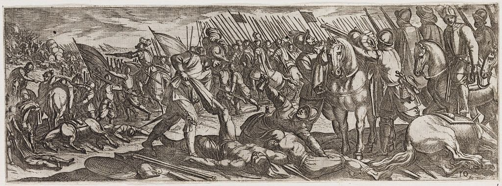 Victorious Soldiers Stripping The Dead