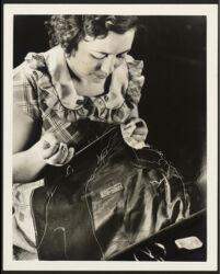 Hand needle-work