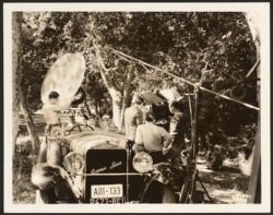 [Shooting close-up of actors in a car]