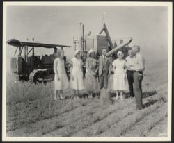 [Wedding in wheat field]
