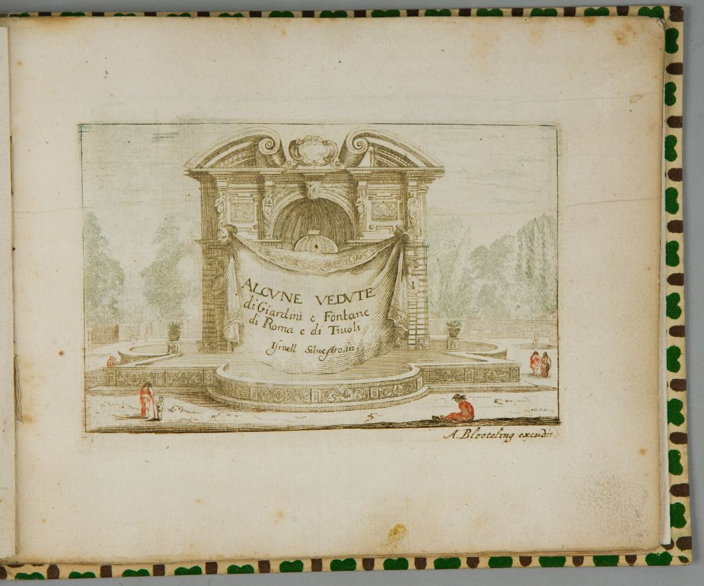 Some Views Of  Gardens And Fountains Of Rome And Tivoli (A Book Of 12 Plates)