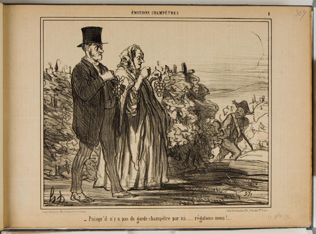 Pickhardt Vol. Vii: Charivari Lithographs By Daumier