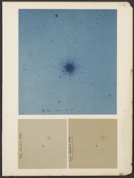 M 3 var's [variable stars] 91-95; M 3 March, 17 1896; M 3 April 3, 1896; [3 photographs on 1 page]