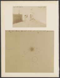 New Misti Station May 31, 1896 [and] M 3, June 13, 1896 [2 photographs]