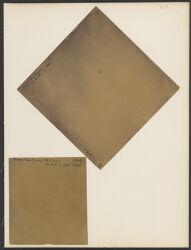 "Nova Centauri X 7370, March 16, 1896, exp. 60 m, 13"" tel. [and] Nova Centauri B 15404, exp. 62 m Bache [2 photographs]"