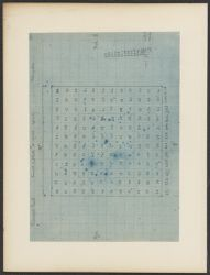 Pleiades, Count of Plate A 2186 exp. 6 h, Reversed Print [chart]