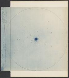 "Enlargement 1 m. m [supscript] 10"" M 3 from X 8611. Examination of Sept. 1897"