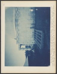 Foundation and sills of [Mer?] phot. Shelter, Dec. 22, 1898 [phtotograph]