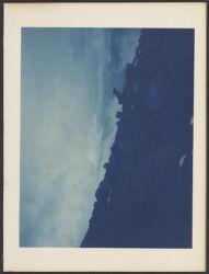 M. B. [Mont Blanc] hut looking N. E. taken about 6:00 p.m. Jan. 4