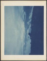 M. B. [Mont Blanc] hut looking N. E.