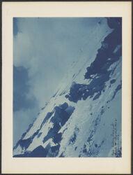 """Misti looking along path toward W. Elev. About 18, 000 ft. Jan. 5, 1894."""""""