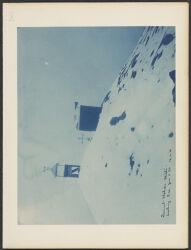 Summit station, Misti looking S. W. Jan. 5, ' 94  12:00 m [p.m.]