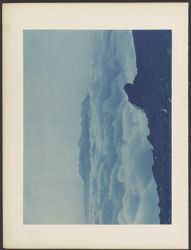 Cloud view from M. B. hut looking S. E. toward Pichu Pichu [indecipherable] [1894]