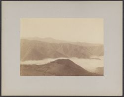 [View of mountains and clouds, Peru