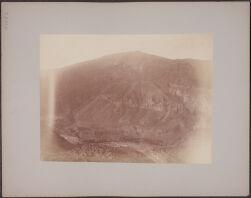 [View of mountains and ravine, near Arequipa, Peru]