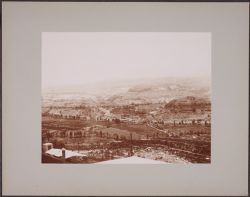 [View of valley and mountains from Harvard College Observatory station, Arequipa, Peru]