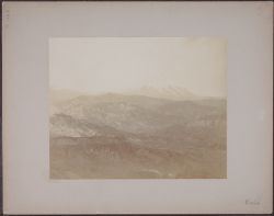[View of mountains near Arequipa, Peru]