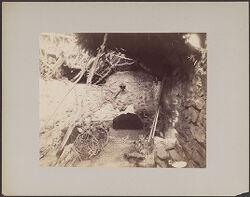 Interior of Tambo del Agua de los Milagros