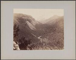 Chachani and ravine