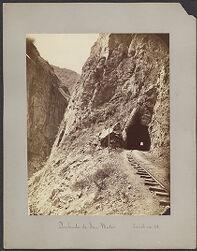 Quebrada de San Matéo, Tunel no. 28