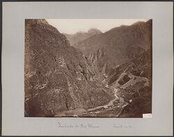 Quebrada de Rio Blanco, Tunel no. 37