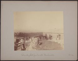 Observatory lot from the north March 21, 1891