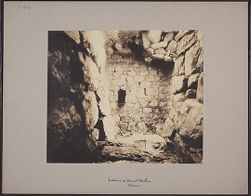 Interior of Ancient Dwelling, Titicaca